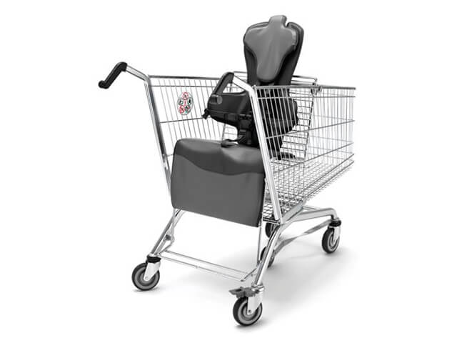 Disabled Wheelchair Trolley 62 Ltr