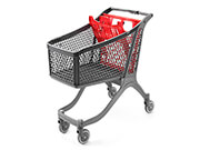 Polysteel Shopping Trolleys - Standard