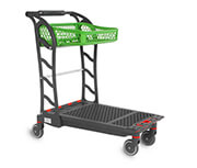 Plastic Flatbed Trolley