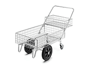 Garden Centre Twin Basket Trolleys 110 Ltr
