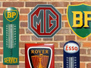 Classic Motoring Enamelled Signs