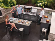Outdoor Kitchen Cabinets & Grills