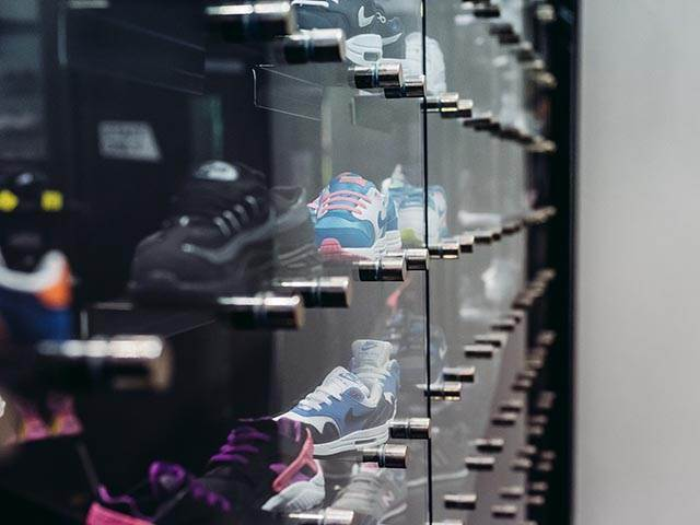 Bespoke Glass Retail Display