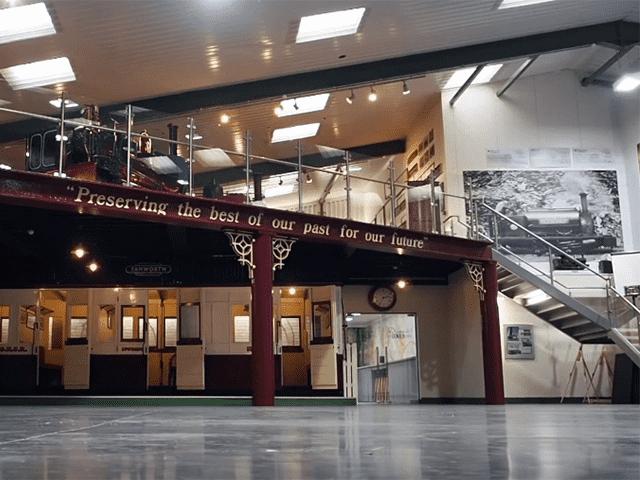 Statfold Museum Mezzanine Floor