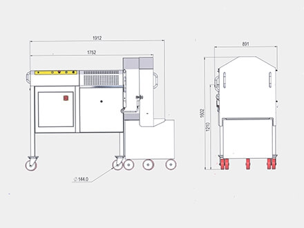 Machine Technical Drawings