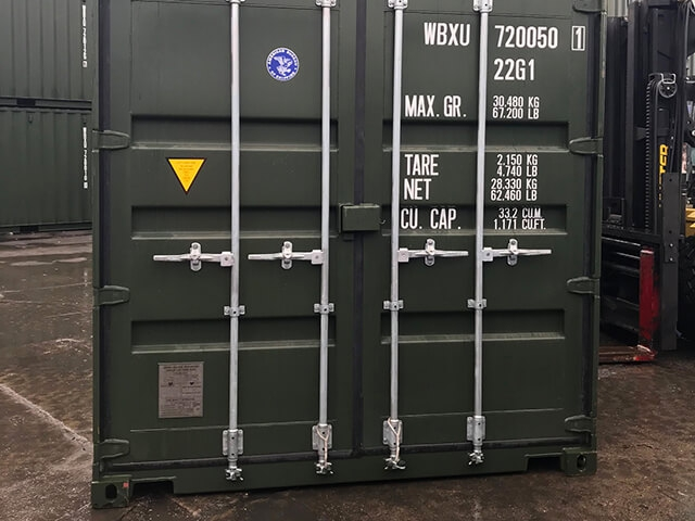 20ft Dry Storage Containers