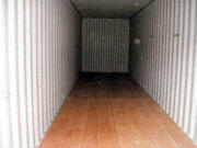 Inside 40ft Container