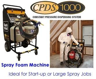 cpds foam machine
