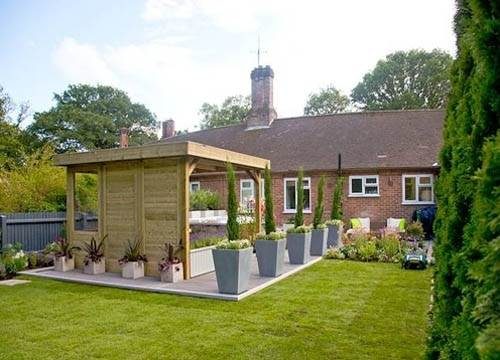 A b building products ltd composite decking twinson for Love your garden designs