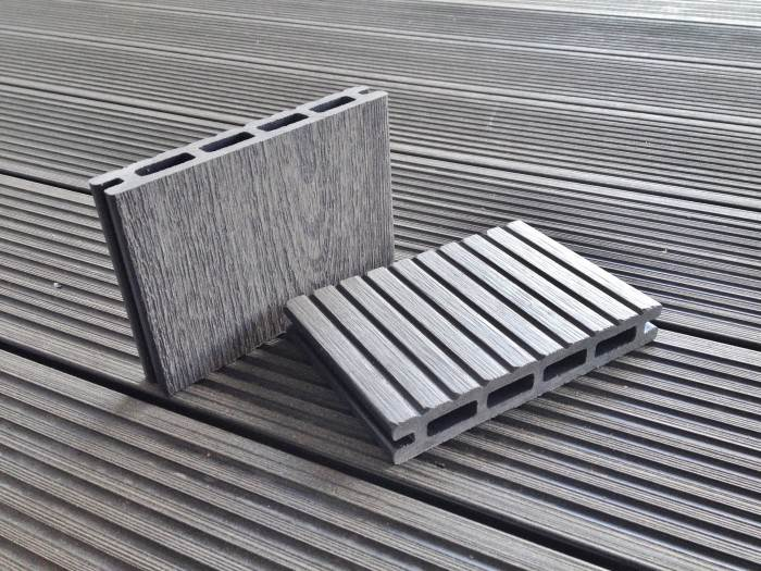 A b building products ltd composite decking twinson for Plastic composite decking