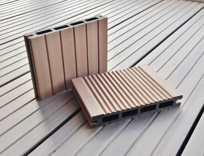 A b building products ltd composite decking garden for Garden decking companies