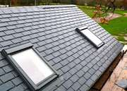 Eco Slate Effect Roof Tiles. 50 Year Warranty