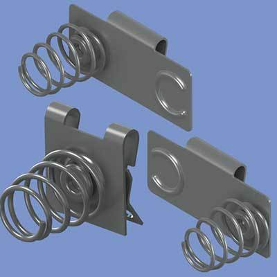 HIGH PERFORMANCE COIL SPRING BATTERY CONTACTS FROM KEYSTONE ELECTRONICS