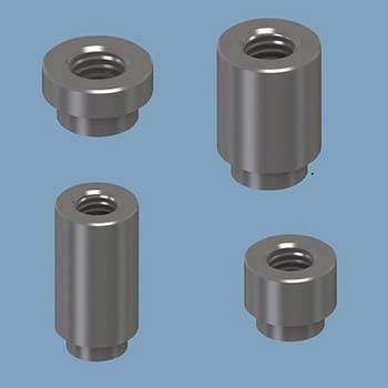 Steel Threaded Standoffs in Surface Mount (SMT) format
