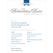 The Parliamentary Review - House of Commons