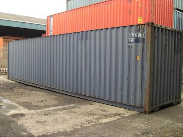 Used 40ft High Cube Shipping Containers