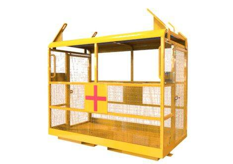 Crane Slung Emergency Rescue Platforms
