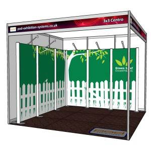 What to put in a 3×3 Exhibition Stand Space?