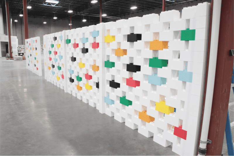 Creating Walls with EverBlock Building Blocks