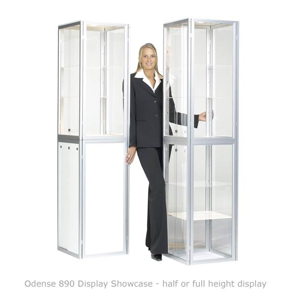 Portable Glass Showcases