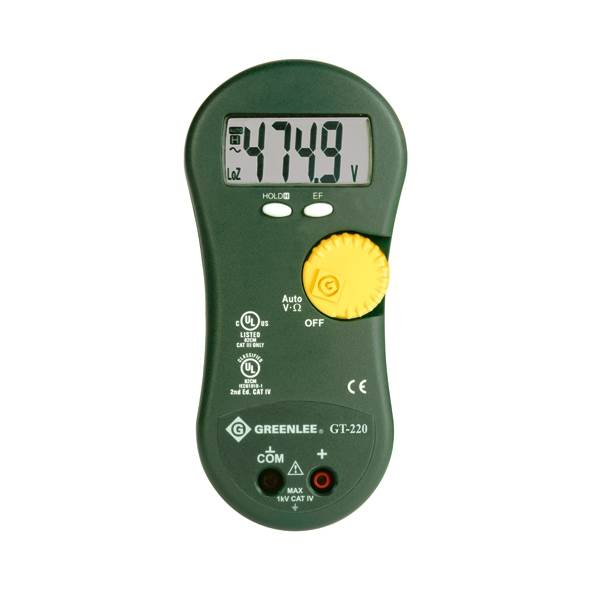 Greenlee GT220 Multimeter