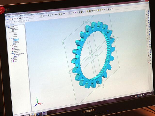 Gear Cutting Design