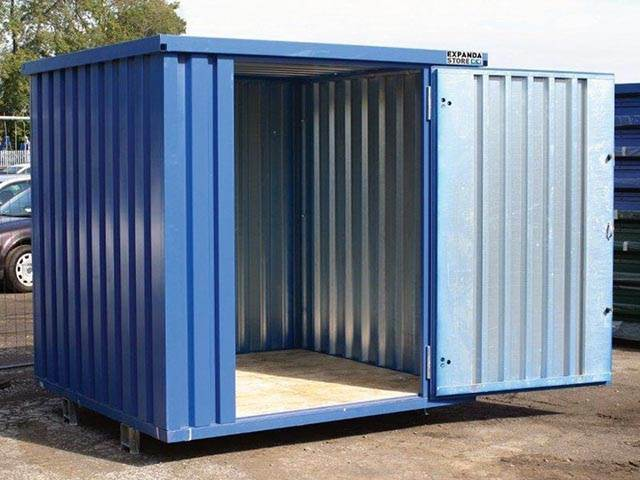 Expandastore - Flat Pack Container