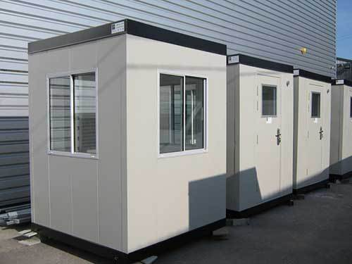 New Security Hut Range From Cabins and Containers