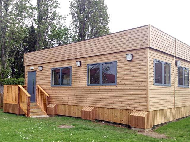 Refurbished Flat Pack Cabins
