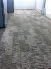 carpet tiles we installed at Tower 42