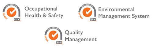Triple ISO Certification