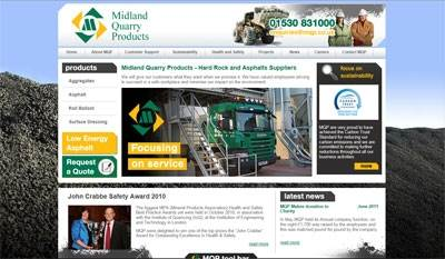 Midland Quarry Products Ltd Whitwick Le67 5gr