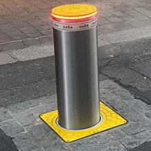 Automatic Rising Bollard – Falmouth, Cornwall County Council