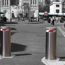Royal Borough of Kingston Upon Thames – Automatic Rising Security Bollards