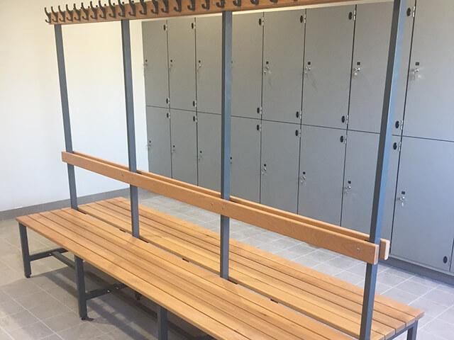 Locker Room Bench Seating