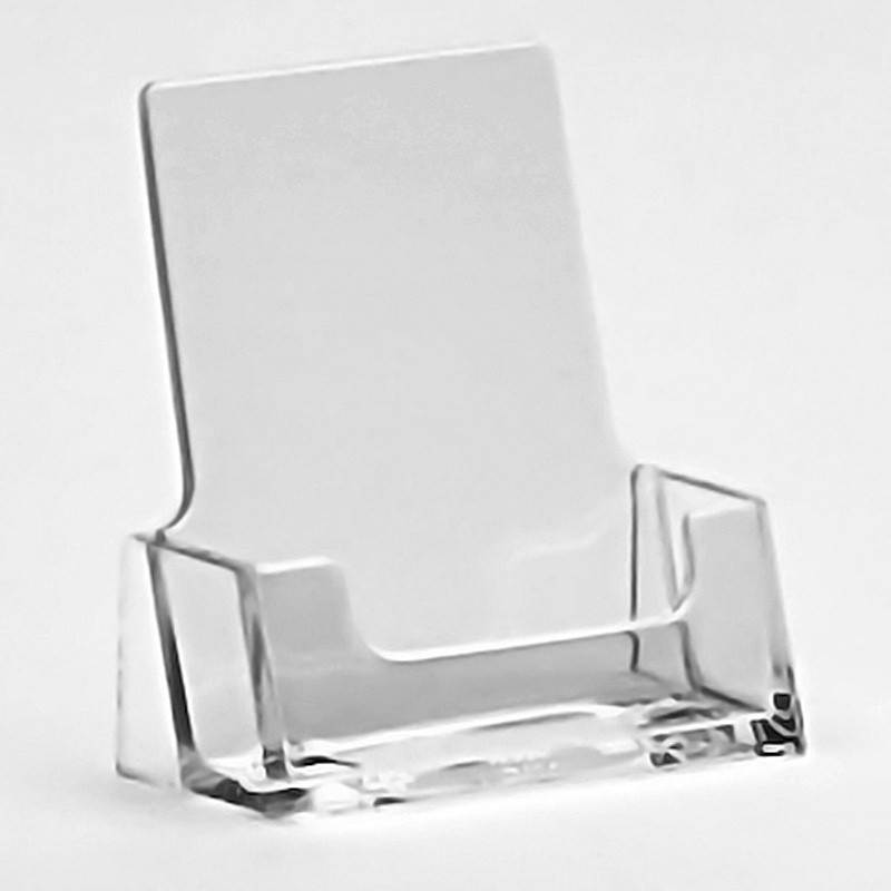Portrait business card holder