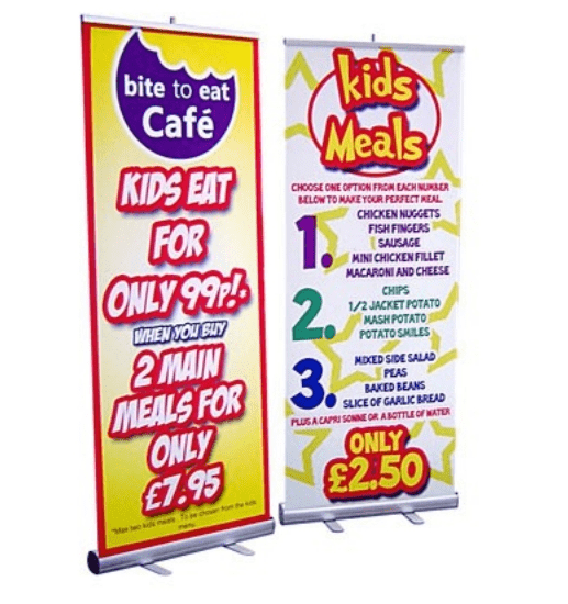 Printed Roller Banner Stand