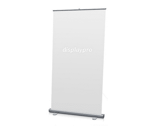 Pull up roller banner stand