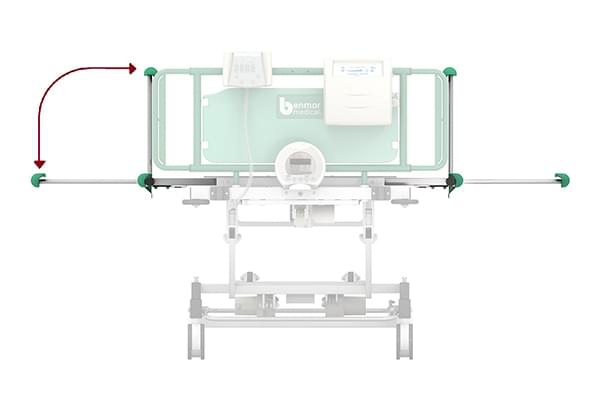 Innovative bariatric bed patent granted in the UK and Europe