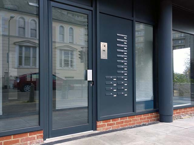 Communal Doors