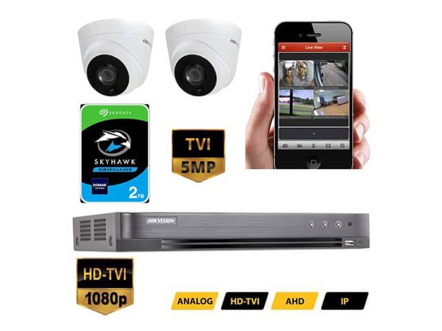 Hikvision CCTV Camera System 5MP TVI