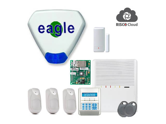 Risco Agility wireless home alarm system