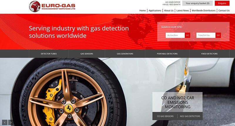 EURO-GAS LAUNCHES NEW LOOK WEBSITE FOR 31ST YEAR ANNIVERSARY