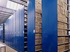 Mobile Roller Shelving for Archive Storage & Storage Aspects Limited Roller Racking Mobile Shelves Mobile ...