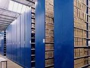 Mobile Roller Shelving for Archive Storage