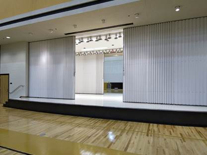 Concertina / Vinyl Movable Partition Repairs