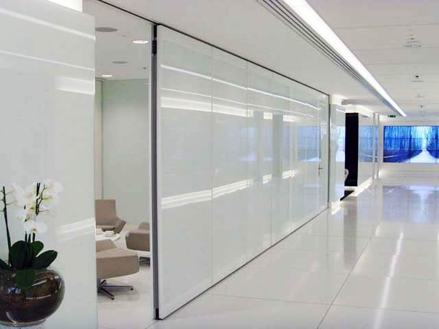 Electric Operable Partition Systems