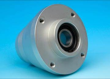 Machined Aluminium Bearing Housing/Spacer