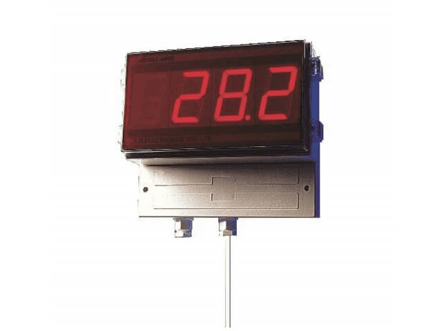 LED Wall Mount Thermocouple Thermometer