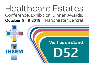 See TME's NEW Legionella Water Safety Products at Healthcare Estates 2019